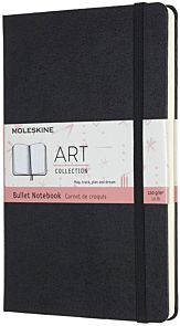 Moleskine Art Bullet Notebook 13x21cm Sort