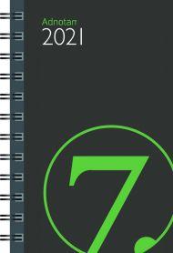 Lommekalender 2021 7.sans Adnotam Uke A7 Kartong
