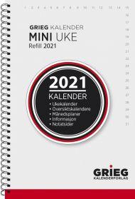 Kalender 2021 Mini Refill Uke