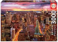 Puslespill 3000 Manhattan Skyline Educa