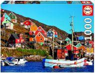 Puslespill 1000 Nordic Houses Educa