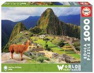 Puslespill 1000 Machu Picchu, Peru Educa