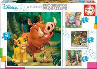 Puslespill 4i1 Disney Puzzles Educa