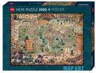 Puslespill 2000 Pirate World Heye