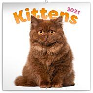 Kalender 2021 30x30cm Kittens
