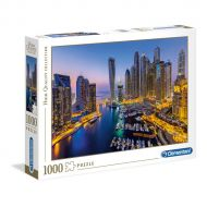 Puslespill 1000 High Color Dubai Clementoni