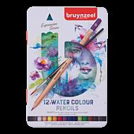 Akvarellblyant Bruynzeel Sett 12Stk