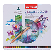 Akvarellblyant Bruynzeel Sett 24Stk