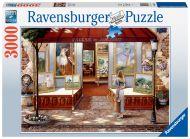Puslespill 3000 Kunstgalleri Ravensburge