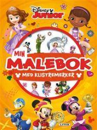 Malebok Disney Junior Med Klistremerker
