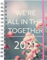 Kalender 2021 Libra Trend Uke Blomst