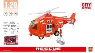 Wenyi  Redningshelikopter M/Lyd Og Lys (20Cm)
