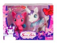 Leke Pony 2 x Unicorn med hårbørste 2