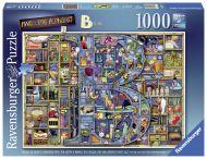 Puslespill 1000 Bokstaven B Ravensburger