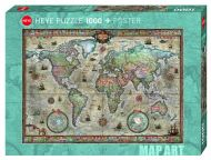 Puslespill 1000 Retro World Heye
