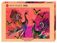 Puslespill 1000 Peacock Butterfly Heye