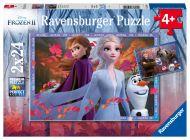 Puslespill 2X24 Frost II Ravensburger