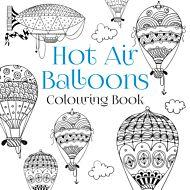 The Hot Air Balloons Colouring Book