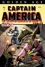 Golden Age Captain America Omnibus Vol. 1