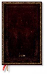 Kalender 2021 Black Moroccan B5 Uke