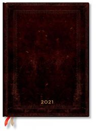 Kalender 2021 Black Moroccan Bold B5 Dag