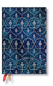 Kalender Paperblanks 18M 21/22 Mini Blue Velvet Uk