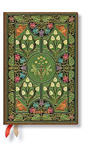 Kalender Paperblanks 18M 21/22 Mini Poetry in Bloo