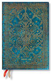 Kalender Paperblanks 18M 21/22 Midi Azure Uke