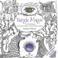 Tangle magic (large format edition). A spellbinding colouring book with hidden charms