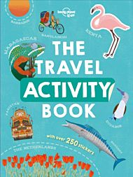 The travel activity book. With over 250 stickers