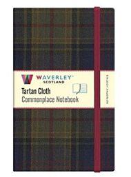Kinloch Anderson: Waverley Scotland Genuine Tartan Cloth Commonplace Notebook