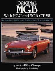 Original MGB with MGC and MGB GT V8