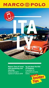 Italy Marco Polo Pocket Travel Guide - with pull out map