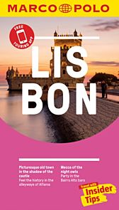 Lisbon Marco Polo Pocket Travel Guide - with pull out map