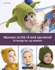 Morsom strikk til små sjarmtroll