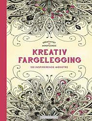 Kreativitet og mindfulness. Fargelegging som gir ro i sjelen. 100 inspirerende mønster til å fargele
