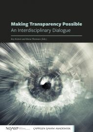 Making transparency possible