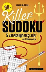 Killer-sudoku. 5 vanskelighetsgrader med tidsangivelse