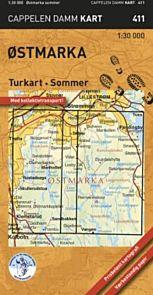 Østmarka sommer turkart (CK 411)