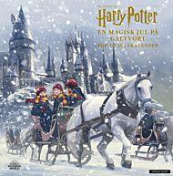 En magisk jul på Galtvort. Harry Potter pop-up julekalender