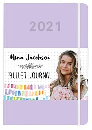 Mina Jacobsen. Bullet journal 2021