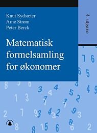 Matematisk formelsamling for økonomer