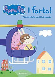 Peppa Pig. I farta! Aktivitetshefte med klistremerker
