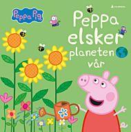 Peppa elsker planeten vår