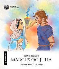 Romerriket. Marcus og Julia. Klassesett. Nivå 3, 4 og 5. 10 stk. av hvert nivå