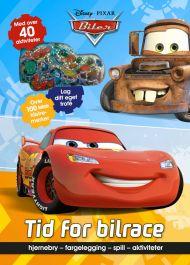 Biler. Tid for bilrace. Hjernebry, fargelegging, s