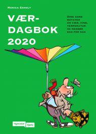 Værdagbok 2020. Dine egne notater om vær, vind, temperatur og nedbør dag for dag
