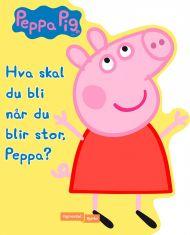 Hva skal du bli når du blir stor, Peppa?