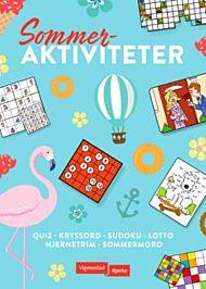 Sommeraktiviteter : quiz, kryssord, sudoku, lotto, hjernetrim, påskemorro