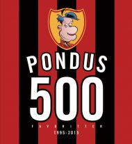 Pondus JUBILEUMSBOK, 500 favoritter